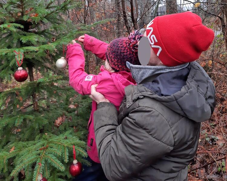 Baum schmücken, Weihnachten, Schmuck
