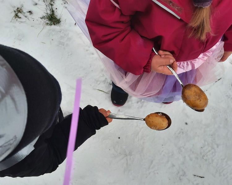 Fasching, Spiele, Schnee