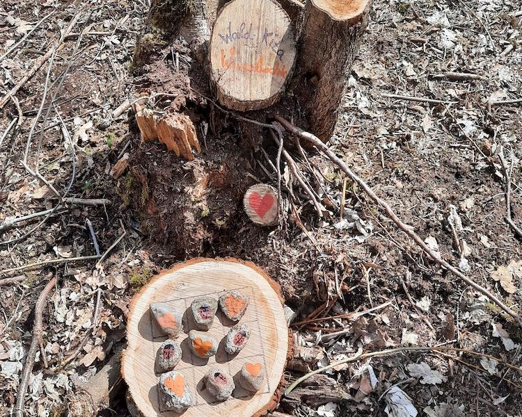 Netti, Waldkunstwerke